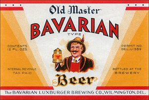 Bavarian-Luxburger label