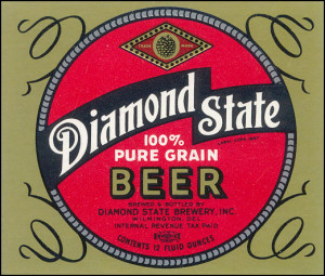 Diamond State Beer label (John Medkeff collection)