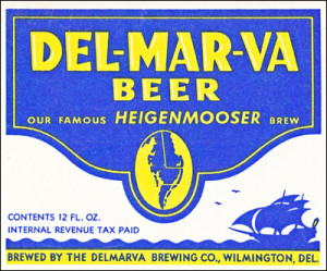Delmarva Beer label