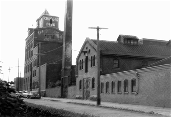 Krueger brewery, circa 1955 (courtesy National Brewery Museum)