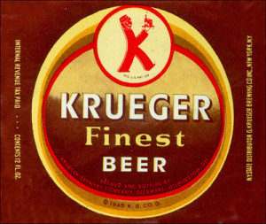 Krueger beer label