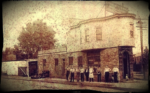 Stanley Sobocinski's bottling plant & brewery