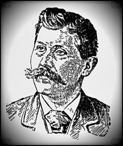 John Lengel, circa 1895 etching
